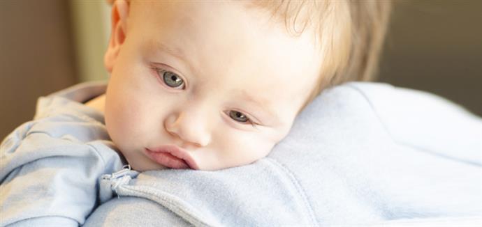 Μωρό τους αρρωσταίνει για πρώτη φορά 57fc8399794