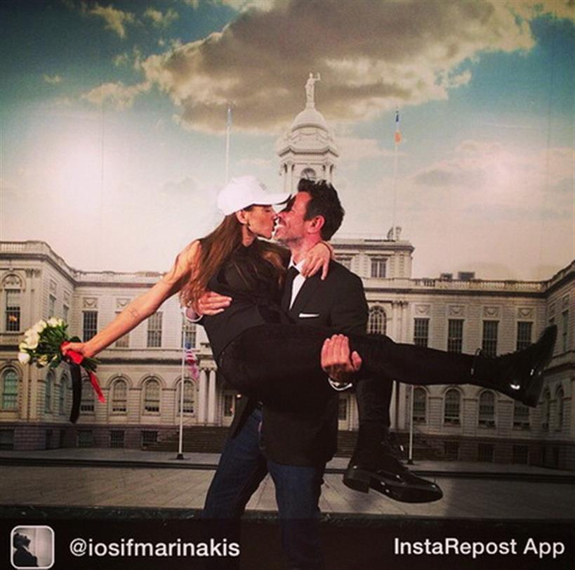 Πασίγνωστος Έλληνας μόλις παντρεύτηκε και το ανακοίνωσε με μια φωτογραφία στο Instagram!