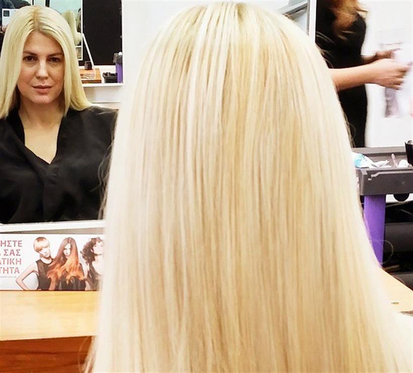 Ράνια Θρασκιά: Πήγε για βαφή μαλλιών λίγο πριν το Πάσχα. Δείτε το αποτέλεσμα!